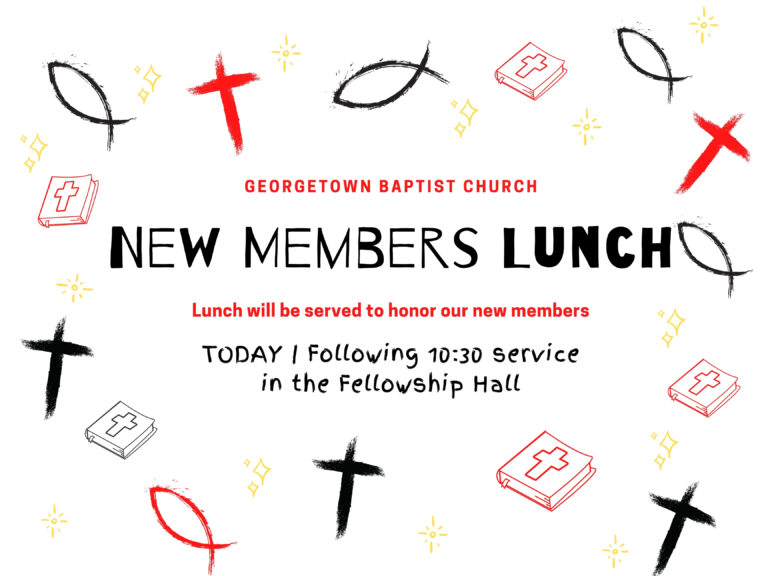 New Members Lunch 9.20.20
