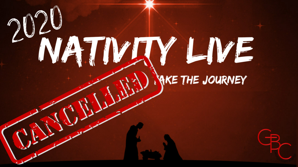 Nativity Live Cancelled- No Date