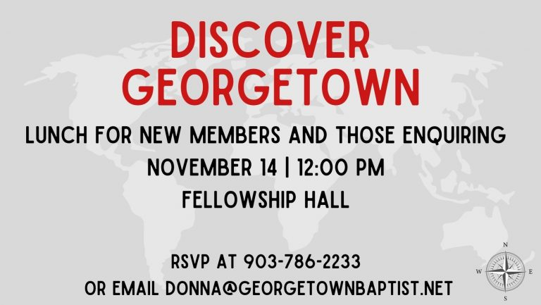 Discover Georgetown
